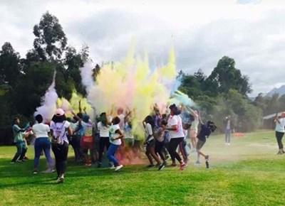 NMU colour fun run