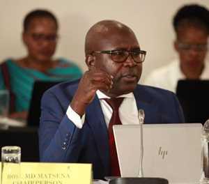 Politician Mapiti Matsena's alleged murderer appears in court