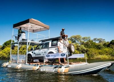 Holgate and Land Rover eye Zambezi Delta