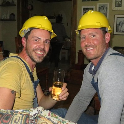 Locals runners up on DIY TV show