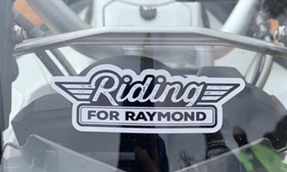 Memorial ride for Raymond Botha