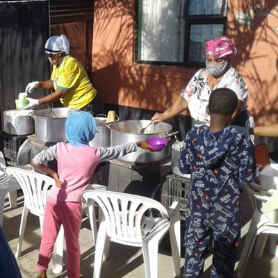 Soup kitchens and donation centre continue to sustain communities