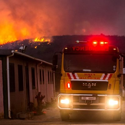 Sunday morning: Garden Route fires
