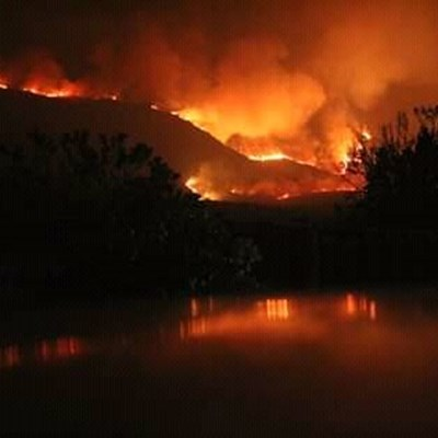 Update: Outeniqua mountain fire