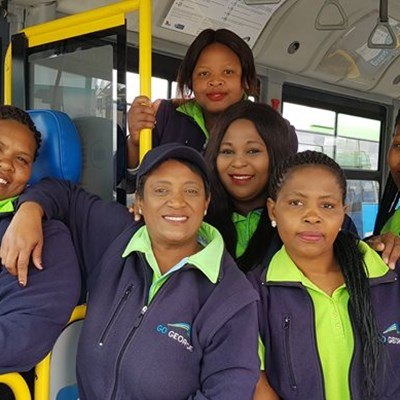 Female bus drivers say it's not for 'sissies'