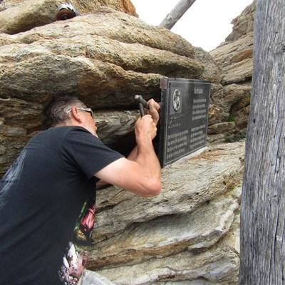 Lucas se steen is nou in Pretoria