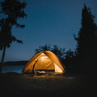 Father, daughter and pets fine after lockdown camping trip