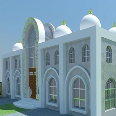 Mosque construction to start next month