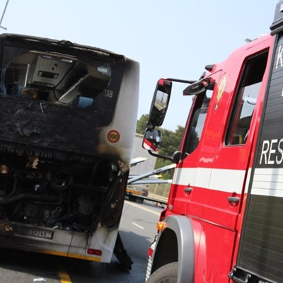 Bus fire: No evidence of foul play