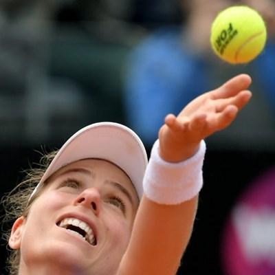 Pliskova sweeps past Konta to win Italian Open