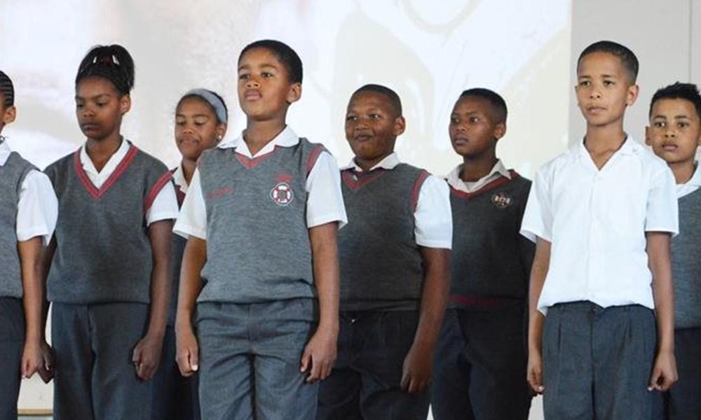 Mandela day at Erika Primary