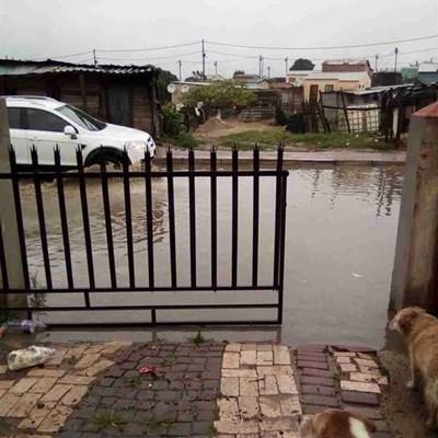 Tabata Street residents kept hostage by floods