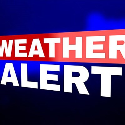 Update on weather warning