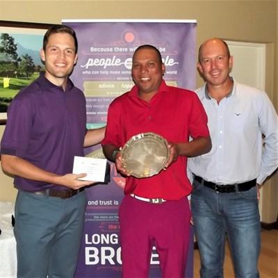 Barnard, Williams the George Golf Club champs