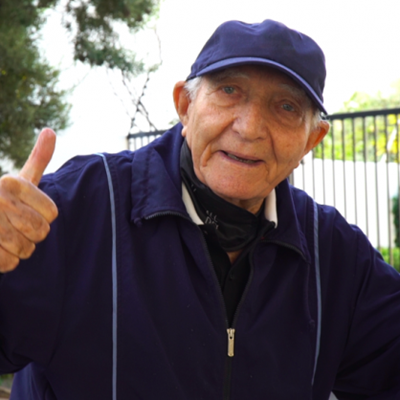 Veteran business titan, 91, determined to raise R108 million to feed the hungry