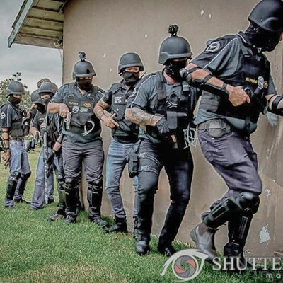Plett crime fighters hone skills in simulated farm attack