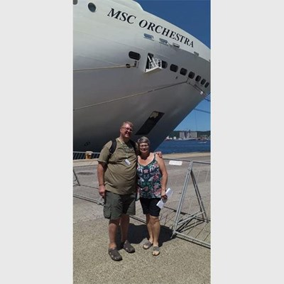 Travelling on the MSC Orchestra after passengers test positive for Covid-19
