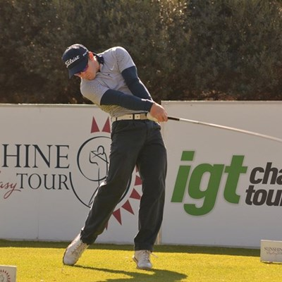 Conradie cruises to Big Easy IGT lead at Centurion
