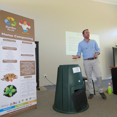 Household composting to reduce landfill waste