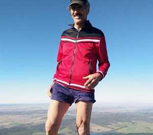 100ste klim op sy 70ste verjaardag