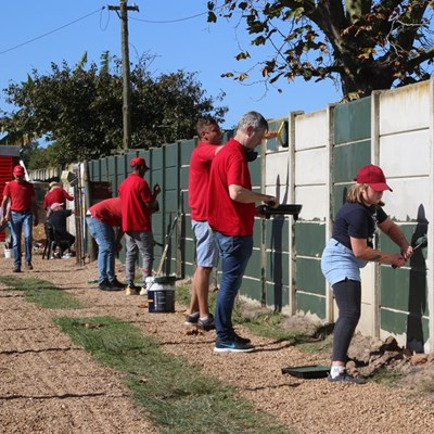 Pacaltsdorp crèche gets red-hot makeover