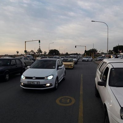 Protest action causes traffic delays