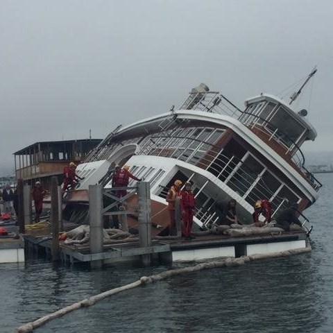 Update: Paddle Cruiser capsize
