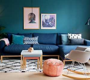 Create stylish interior spaces by using  colour palettes