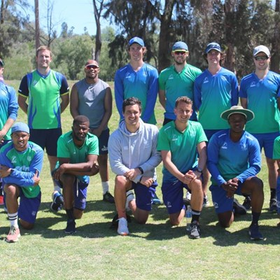 SWD cricketers back on the training field