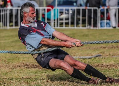 Tug-of-war held at the George Showgrounds