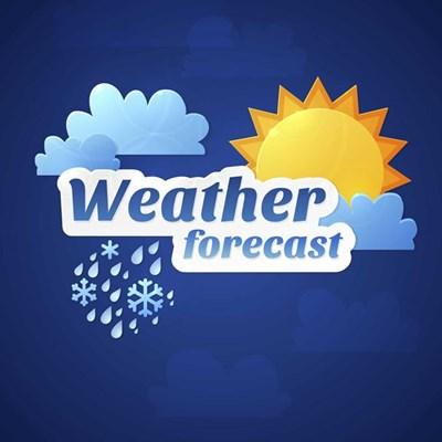 Rain predicted for Graaff-Reinet