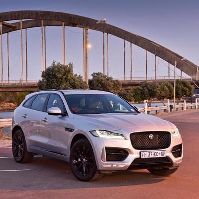 Jaguar's sauve SUV offering