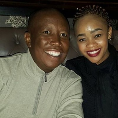Malema slams patriarchy after his wife was asked to take out fake nail to vote