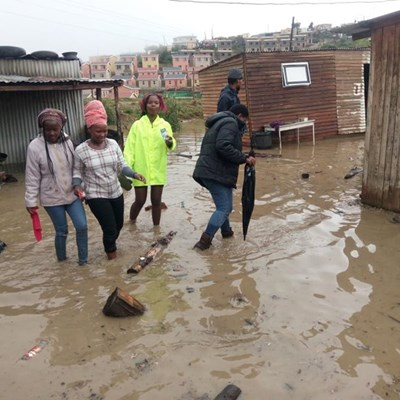 Rain leaves Greenfield residents in limbo