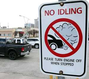 Unnecessary idling can damage a car