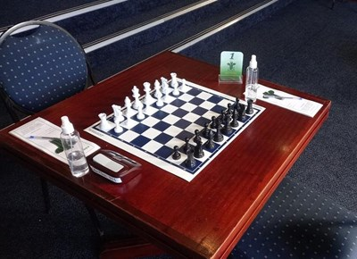 Chess players back on board