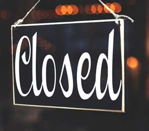 George Herald closed for Easter weekend