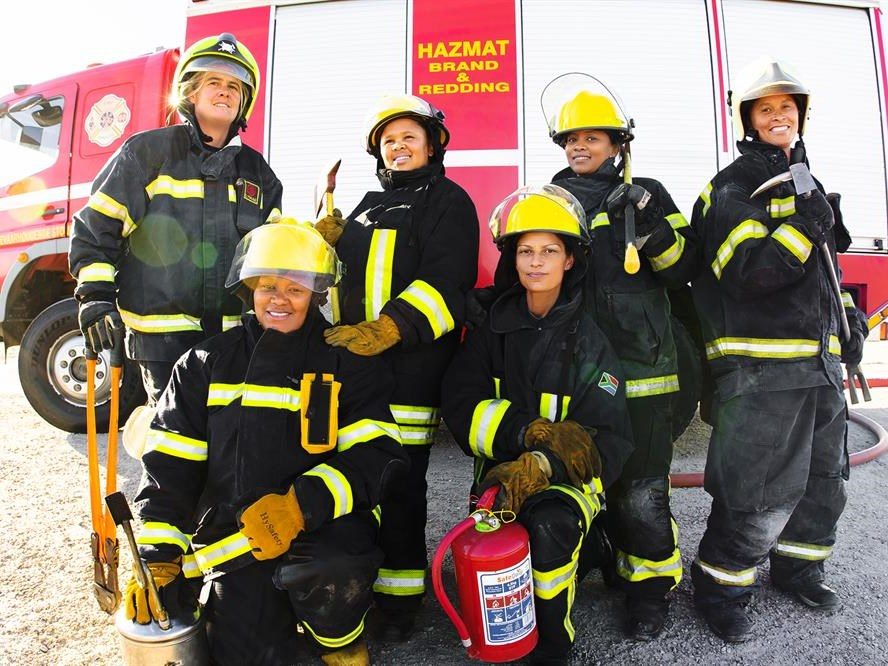 GRDM boasts 7 woman firefighters