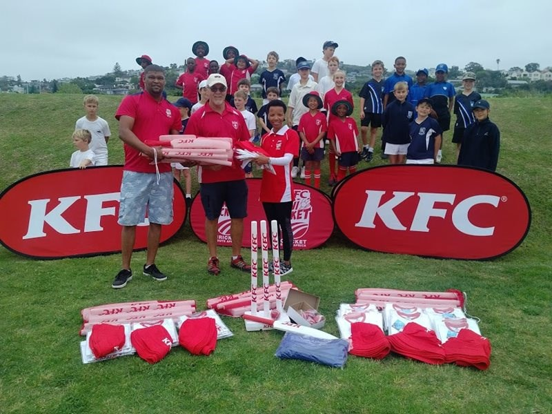 Riverwood welcomes KFC mini cricket
