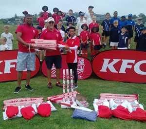 Riverwood welcomes KFC mini cricket