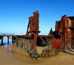 History of the Glentana wreck