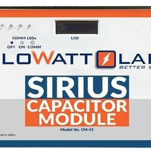 Sirius supercapactiro: Eliminate chemical batteries