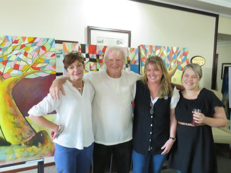 Creative spirits gather for art exhibition