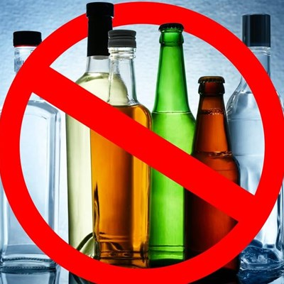 Alcohol ban NOT backed by govt's health experts