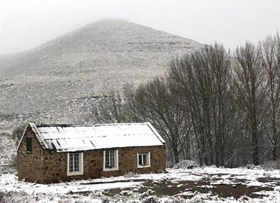 Snow in Nieu-Bethesda