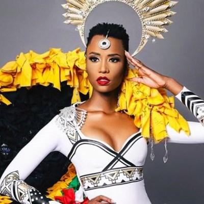 Miss Universe Zozibini Tunzi heads home to help crown new Miss SA 2020