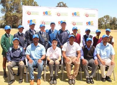 SWD u.17 cricket team on their way to Durban