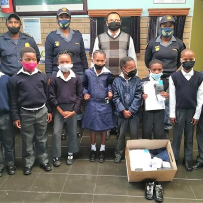 Learners grateful for donations