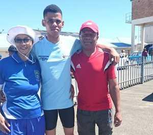 Spandau Sekondêr trots op atleet
