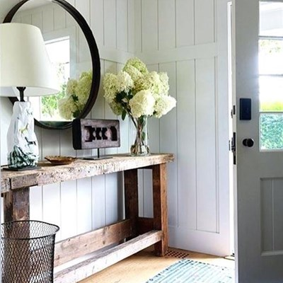 Small foyer can make a big impression